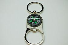 Compass Beer Bottle Opener Zinc Alloy Key Ring