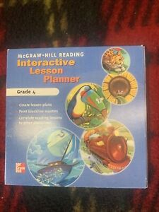 McGraw-Hill Reading Interactive Lesson Planner PC MAC CD