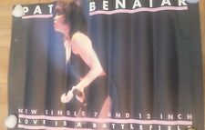 PAT BENATAR 'Love Is A Battlefield' Shop Display POSTER 27x37 inches