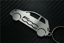 Para Fiat 500 KEYRING LLAVERO SCHLÜSSELRING Porte-clés C L ABARTH Twin Multi Air