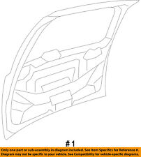 CHRYSLER OEM-Liftgate Tailgate Hatch Panel Skin 68078085AD