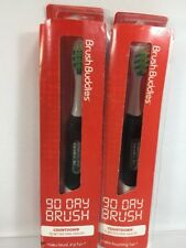 (2) Brush Buddies 90 Day Brush Digital Display Replacement Soft Bristle