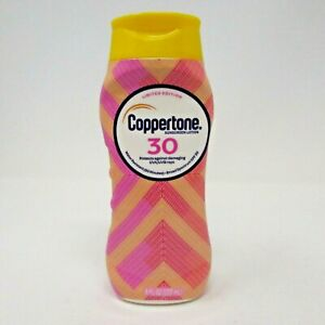 Coppertone Limited Edition Sunscreen Lotion 30 UVA UVB Rays Water Resist 8oz NEW