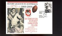 St GEORGE DRAGONS 1900-2000 RUGBY COVER, IAN WALSH 1966