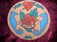 Rosenthal fun&more Sammelteller Heartrose Tattoo No.7 Designers Group 1994