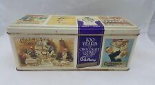 Cadbury Biscuits Hinged Cookie Canister Tin Finger Cookies Vintage 1990