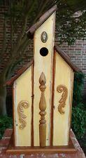 """Handmade Antique & Reclaimed Pine """"Kassel Keep"""" Bluebird Birdhouse"""