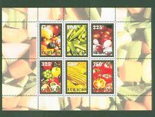 Curaçao 2011 - Légumes Crudité Poivron Oignon Citrouille Tomate Piment - Bloc 4
