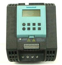 SIEMENS 6SL3211-0AB21-5UB1 SINAMICS G110 1.5KW/2HP 200-240VAC 1Ø (1E4)