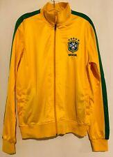 BRASIL National Football Team Track Jacket Soccer RJG Sports Medium Brazil