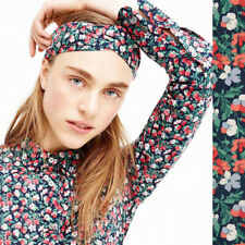 JCREW Slim Perfect Shirt Liberty London Sarah Navy Poppy Floral Blouse Top 6