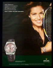 Ana Ivanovic 1-pg large clipping 2009 ad for Rolex