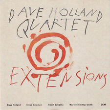 "Dave Holland Extensions/Kevin Eubanks Steve Coleman Marvin ""Smitty"" Smith ECM"