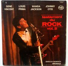 VARIOUS Testament du ROCK VOL.2 Disque LP VINYL 33 T 2M 046-81743 France 1974