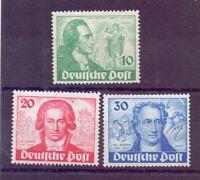Berlin 1949 - Goethe - MiNr. 61/63 postfrisch** geprüft - Michel 320,00 € (811)