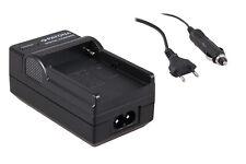 Caricabatteria casa/auto per Sony HDR-FX1000,HDR-FX1000E,HDR-FX7,HDR-FX7E