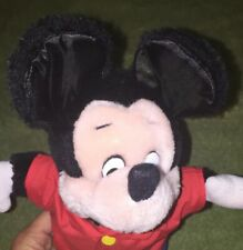 """New listing Vintage Walt Disney Mickey Mouse Plush By Applause '69 Made in Korea 12"""""""