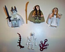 Lego Minifigure LOTR Lord of The Rings Lot 79015 Elrond, Galadriel, & Witch King
