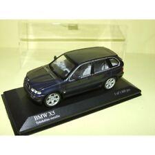 BMW X5 E53 Bleu MINICHAMPS 1:43