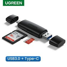 Ugreen USB OTG Card Reader Type C USB 3.0 to SD Micro SD TF Memory Adapter Fr PC