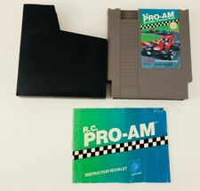 R.C. Pro-Am (Nintendo NES, 1988) Complete with Manual