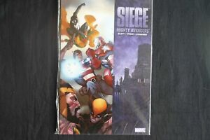 Mighty Avengers Siege Softcover graphic Novel (b3) Marvel