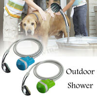 Portable Outdoor Shower Water Pump Rechargeable Nozzle Set Battery-Powered