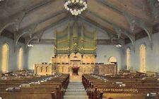 Fairfield Iowa~Pipe Organ~Hymnals~Platform Chairs~Presbyterian Church c1910