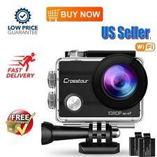 Crosstour Action Camera Underwater Cam WiFi 1080P Full HD 12MP Waterproof NEW US