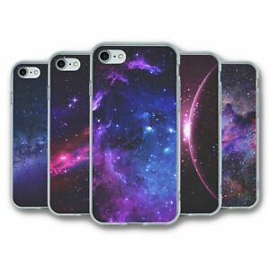 For iPhone 7 8 SE 2020 Silicone Case Cover Space Collection 1
