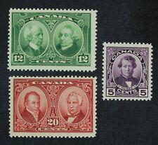 Ckstamps: Canada Stamps Collection Scott#146-148 Mint Lh Og