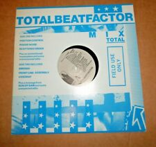 """Various – Total Beat Factor [10"""" Mini LP] Portion Control Front Line Assembly"""