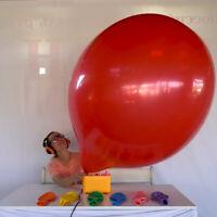 """2x 45""""-50"""" inch Russian Jumbo Balloon *Dark Green* looner big latex balloon"""