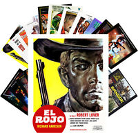 Postcards Pack [24 cards] RICHARD HARRISON Vintage Movie Posters CC1366