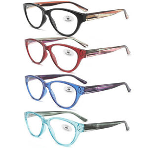 5 Packs Retro Jelly Color Cat Eye Reading Glasses Red Green Blue Black Magnifier