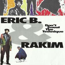 ERIC B. & RAKIM Don't Sweat The Techique 1992 12-track CD album NEW/SEALED