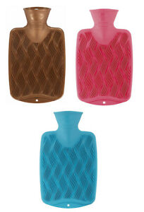 Fashy Latex Free 0.8L Small Hot Water Bottle