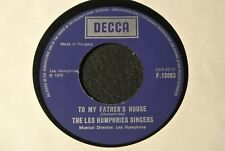 THE LES HUMPHRIES SINGERS To My Father's House / Hungarian SP 1970 DECCA F.13093