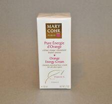 Mary Cohr Orange Energy Cream All Skin Types 50ml/1.7oz.  New in box