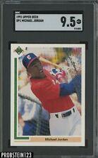 1991 Upper Deck #SP1 Michael Jordan Chicago White Sox SGC 9.5 MINT+