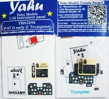 Yahu Models YMA3248 1/32 PE P-47D Thunderbolt Early Instrument panel Trumpeter