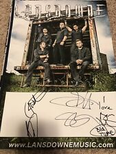 Lansdowne Signed Music Poster Autograph Rock Band