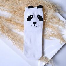 3d Cute Cartoon Animal Print Panda Men Women Xmas Gifts Cotton Ankle-high Socks White