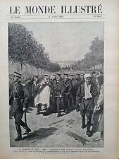 LE MONDE ILLUSTRE 1905 N 2519 LES EVENEMENTS DE RUSSIE: A ODESSA