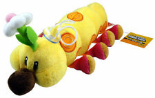 Super Mario Bros Wiggler Caterpillar 11in Stuffed Toy Plush Doll Xmas Gifts