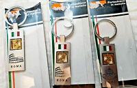 Souvenir Key Chain Italia Italy - Roma Rome Coliseum San Pietro Brand New Boxed