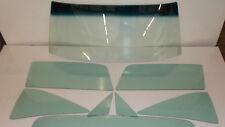 1966 1967 FORD FAIRLANE MERCURY COMET HARDTOP WINDSHIELD SIDE GLASS SET GREEN