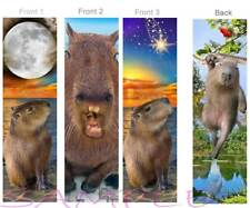 3set-FUN CAPYBARA BOOKMARK Large Rodent Exotic Pet Chill baby Art Book CARD Gift