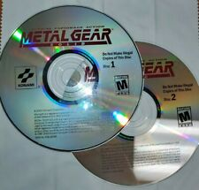 Metal Gear Solid (PC, 2000) - Overall Good Condition. VERY RARE