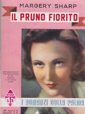 Sharp, Il pruno fiorito, I romanzi della palma, Mondadori, 1939, romanzo rosa